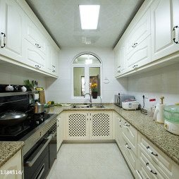 美式风格家装厨房装修效果图