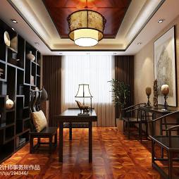 中式禅意实木书桌