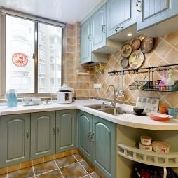 地中海厨房装修效果图欣赏