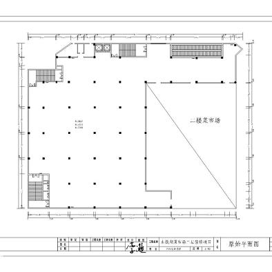 宁波东钱湖菜市场二楼区域设计方案