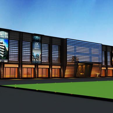 大市场建筑外观设计_1582742