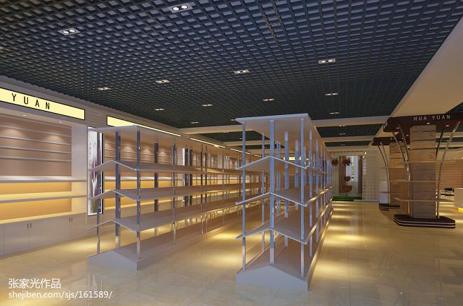 展厅板商店设计图