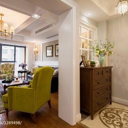 美式客厅隔断设计图片