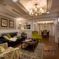 美式客厅装修图片2017图片大全