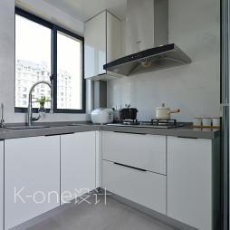 现代不锈钢厨房用品效果图
