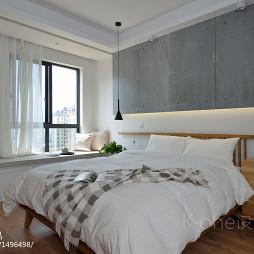 现代简约卧室榻榻米