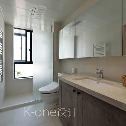 现代卫生间窗户设计