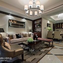 最新混搭风格客厅设计案例