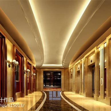 星级酒店设计效果图图集