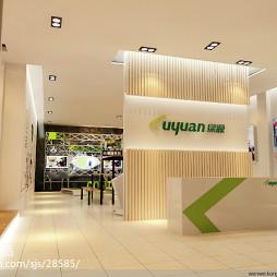 绿源电动车展厅设计_1608440