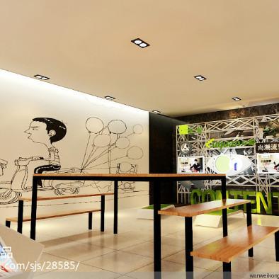 绿源电动车展厅设计