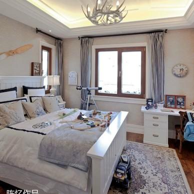 浑厚的法式设计住宅-著名设计师陈忆作品展_1610205