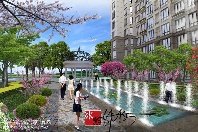 泰安高端小区绿化工程_1612204