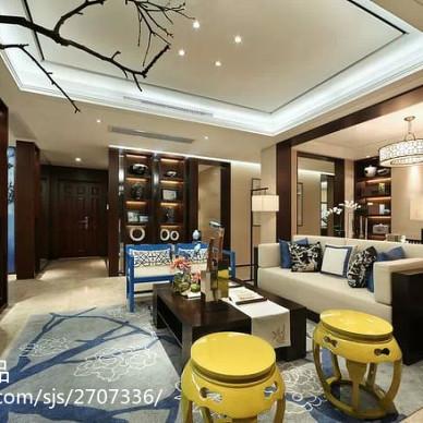 新中式设计住宅-著名设计师陈忆作品_1613932