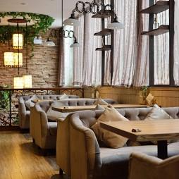 混搭咖啡厅大厅设计效果图