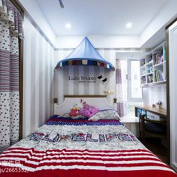 140平米新中式风格儿童房装修效果图