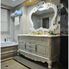 欧式复古风格卫浴装修设计