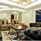 欧式风格客厅隔断设计