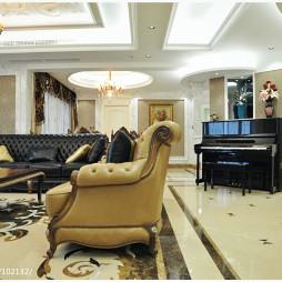 欧式风格客厅家居装修设计