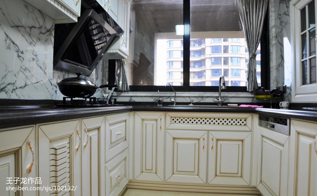 欧式风格厨房装修设计