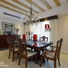 美式风格餐厅家装设计