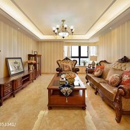 最新美式客厅红木家具装修设计