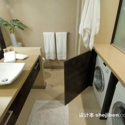 公寓整体卫浴家装效果图