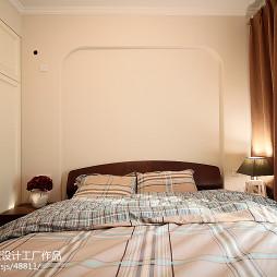 85平方美式田园卧室设计