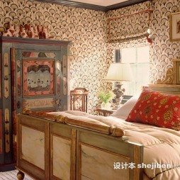 美式田园整体家具装修图片