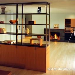 简约整体家具设计图片