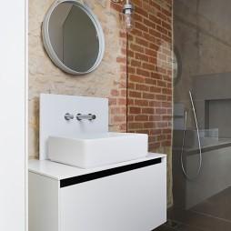 浴室台上盆装修效果图
