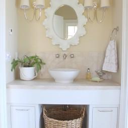 最新陶瓷洗手盆装修图片