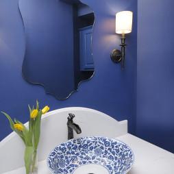 中国风陶瓷洗手盆设计图