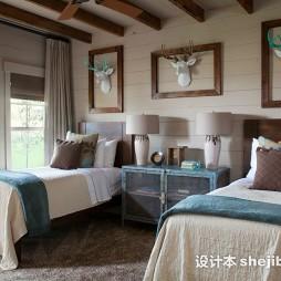 双人晚安实木床欣赏