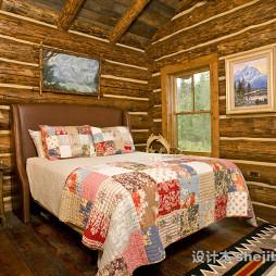 实用的晚安实木床效果图欣赏