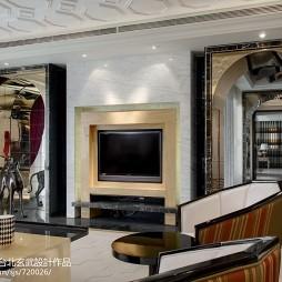 最新混搭风格客厅隔断设计