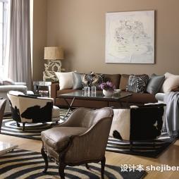 最新的温馨客厅效果图