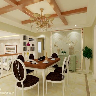 餐厅桌椅设计效果图欣赏
