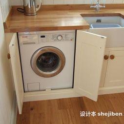 洗衣柜效果图图集大全