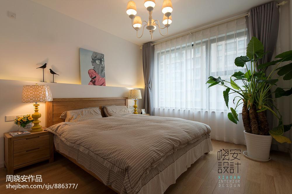 欧式新古典风格家具_北欧现代风卧室装修效果图 – 设计本装修效果图