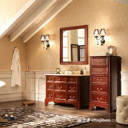 心海伽蓝浴室柜效果图库