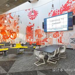 学校文化墙设计效果图图库欣赏