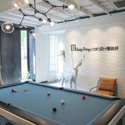 DT设计事务所办公空间休闲区装修效果图