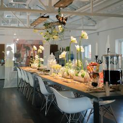 办公空间餐厅装修设计效果图