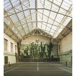 塑胶网球场效果图片