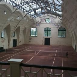 塑胶网球场效果图片大全
