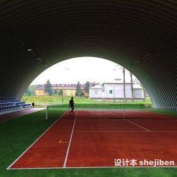 塑胶网球场效果图集大全