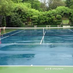 塑胶网球场效果图库欣赏