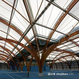 塑胶网球场效果图欣赏大全