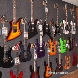 电吉他专卖店效果图集